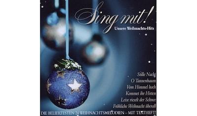 Musik-CD »Sing Mit! Unsere Weihnachts-Hits / Various« kaufen