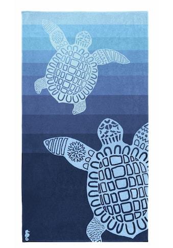 Seahorse Strandtuch »Turtle«, (1 St.), mit Schildkröten Motiv kaufen