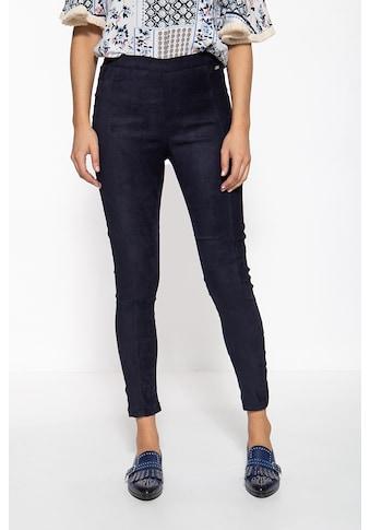ATT Jeans Stretch-Hose »Mila«, in Wildleder-Optik kaufen