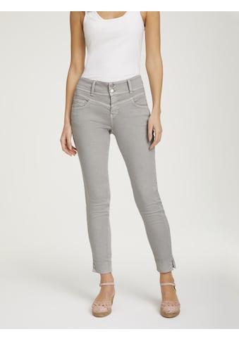 LINEA TESINI by Heine Slim-fit-Jeans, mit breitem Bund kaufen