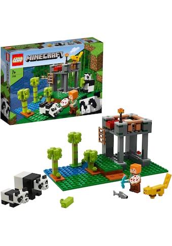 LEGO® Konstruktionsspielsteine »Der Panda-Kindergarten (21158), LEGO® Minecraft™«,... kaufen
