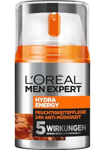 """L'ORÉAL PARIS MEN EXPERT Feuchtigkeitscreme """"Hydra Energy 24H Anti - Müdigkeit"""" kaufen"""