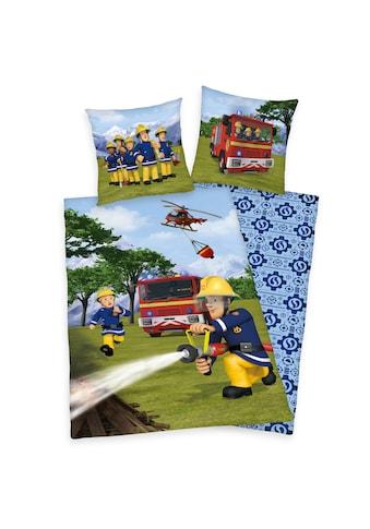 Feuerwehrmann Sam Kinderbettwäsche »Feuerwehrmann Sam, Baumwoll-Renforcé« kaufen