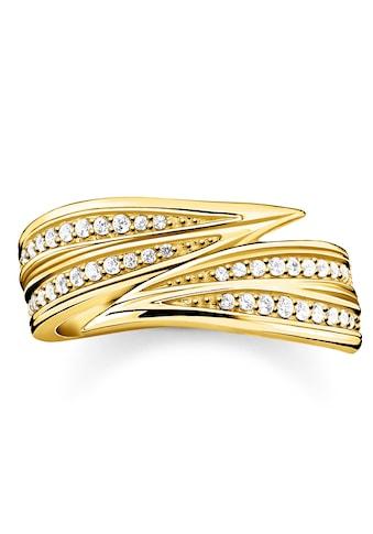 THOMAS SABO Fingerring »Blätter gold, TR2283-414-14-52, TR2283-414-14-54,... kaufen
