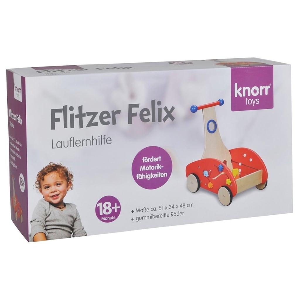 "Knorrtoys® Lauflernhilfe ""Flitzer Felix"""