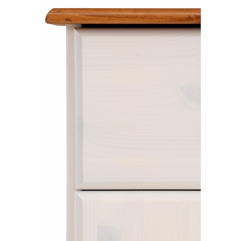 Home affaire Sideboard »Mette«, aus schönem massivem Kiefernholz, in weiteren Farbvarianten, Breite 156 cm