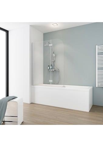 SCHULTE Badewannenaufsatz »Einfach ohne Bohren«, B x H: 112 x 140 cm kaufen