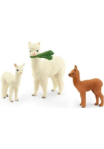 Schleich® Spielfigur »Wild Life, Alpakafamilie (42544)« kaufen
