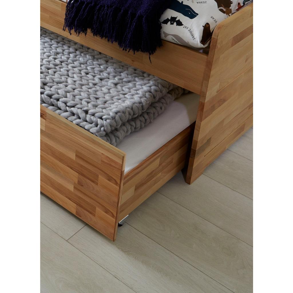 Relita Funktionsbett »Lilly«, mit Bettschublade, nutzbar als 2. Liegefläche, wahlweise mit Matratze