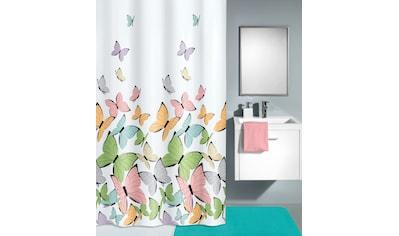 Kleine Wolke Duschvorhang »Butterflies«, Breite 180 cm, (1 tlg.) kaufen