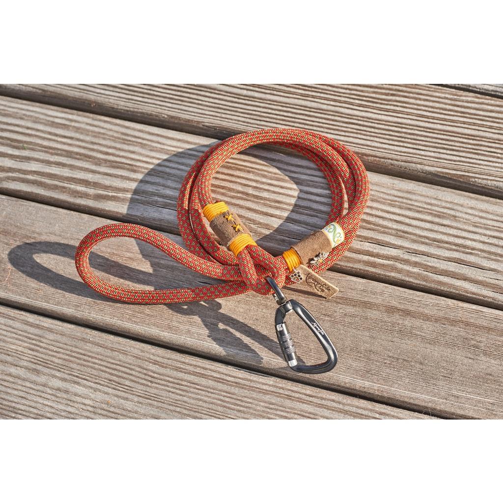Alpenpfote Hundeleine »Trachten-Hundeleine«, mit Hirschhornimitat-Knöpfen - Made in Germany