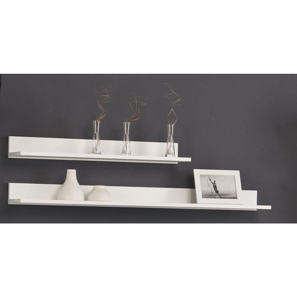 Wandregal »Happy«, (2 St.), Breite 80 oder 120 cm