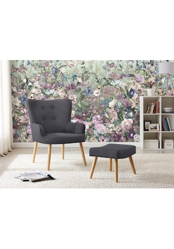 my home Sessel »Levent«, inklusive eines Hockers, in unterschiedlichen... kaufen