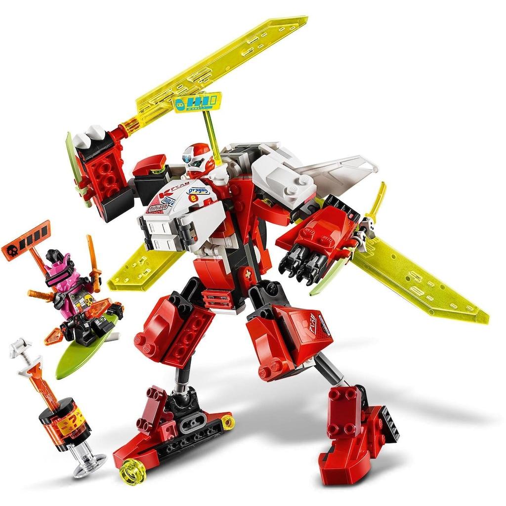 LEGO® Konstruktionsspielsteine »Kais Mech Jet (71707), LEGO® NINJAGO®«, (217 St.), Made in Europe