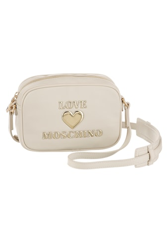 LOVE MOSCHINO Umhängetasche, mit goldfarbenen Herz Details kaufen