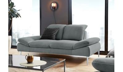 W.SCHILLIG 2-Sitzer »enjoy&MORE«, mit Sitztiefenverstellung, Füße Chrom glänzend,... kaufen