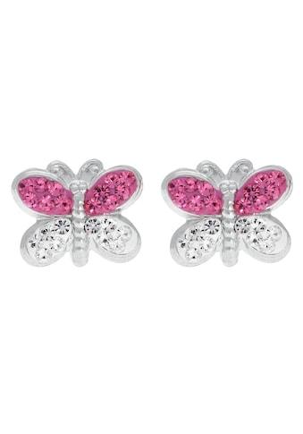 Firetti Paar Ohrstecker »Schmetterling«, mit Kristallen kaufen