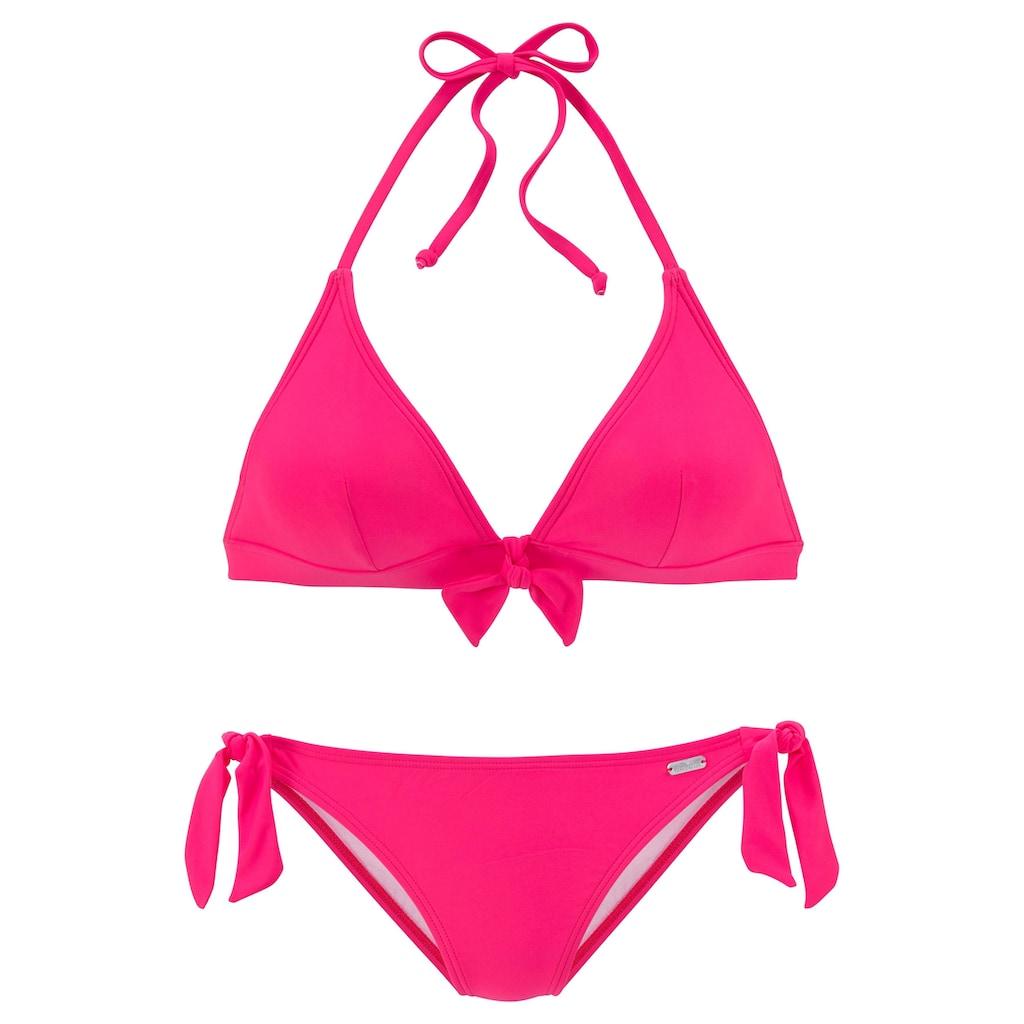 Venice Beach Triangel-Bikini, mit Zierschleife