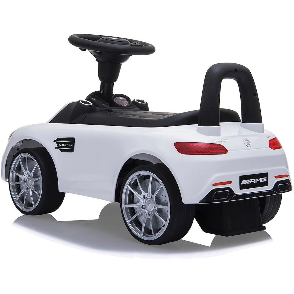 Jamara Rutscherauto »Mercedes-Benz AMT GT, weiß«, mit Sound