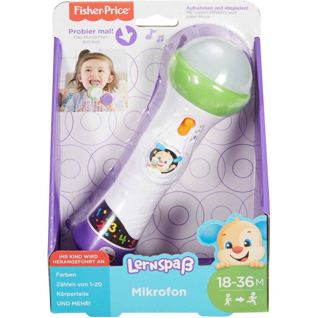 Fisher-Price® Lernspielzeug »Mikrofon«