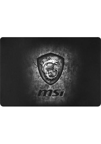 MSI AGILITY GD20 Gaming Mousepad »Glatte Textiloberfläche sorgt für geringe Reibung« kaufen