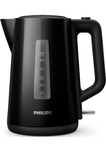 Philips Wasserkocher »Series 3000 HD9318/20«, 1,7 l, 2200 W, schwarz kaufen