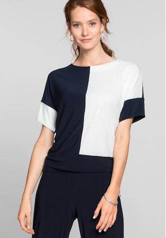 bianca Blusenshirt »JULIE«, im stilvollen Colour-Blocking kaufen