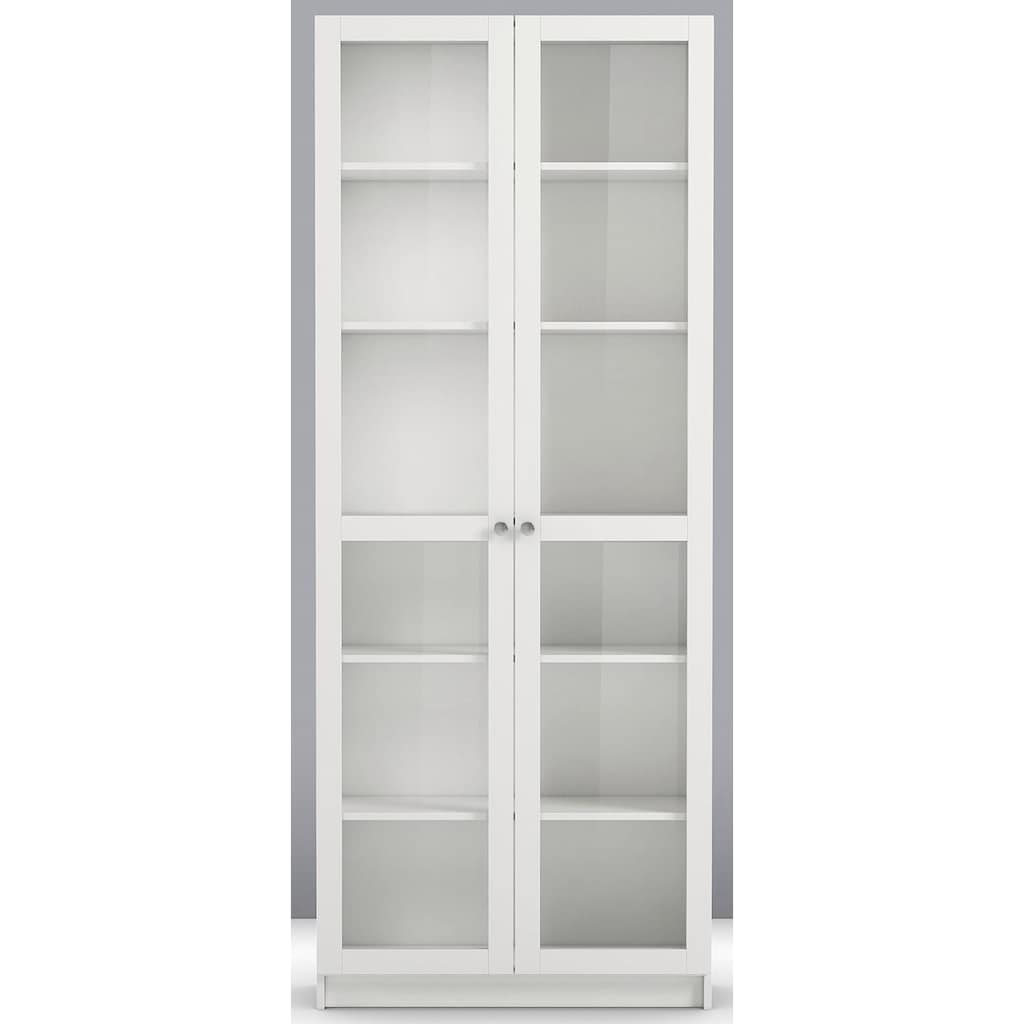Home affaire Schranktür »Anette«, 2 Glastüren passend zum Modulsystem Anette, Breite 80 cm