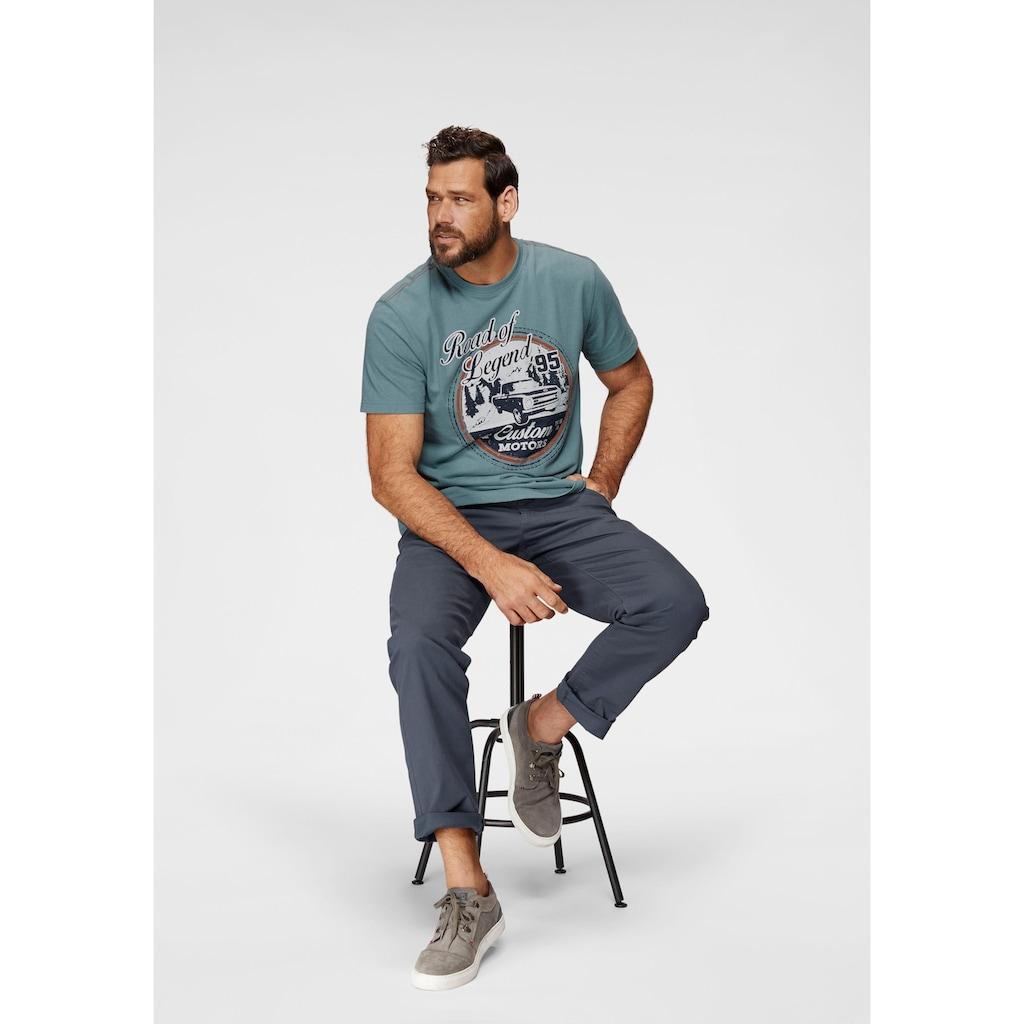 Man's World Dehnbund-Hose, Stretchhose mit Dehnbund