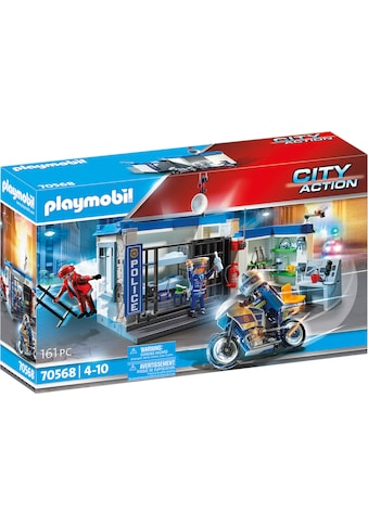Playmobil® Konstruktions-Spielset »Polizei: Flucht aus dem Gefängnis (70568), City... kaufen