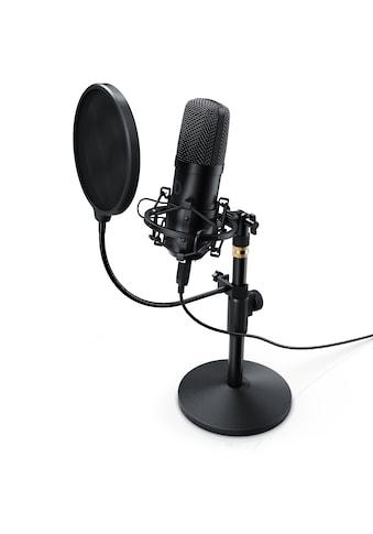 LIAM&DAAN Profi Podcast Set  -  USB Studiomikrofon »Großmembran Kondensatormikrofon« kaufen