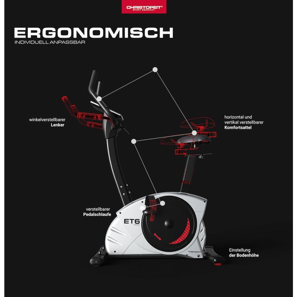 Christopeit Sport® Ergometer »ET 6 Pro«