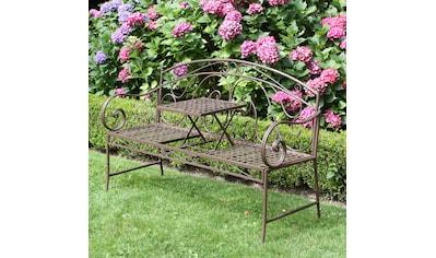 GARDEN PLEASURE Gartenbank »Saket«, Stahl, 146x53 cm kaufen