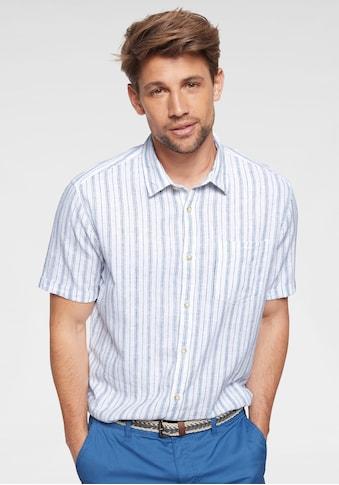 Esprit Kurzarmhemd, in dezentem Streifendesign kaufen