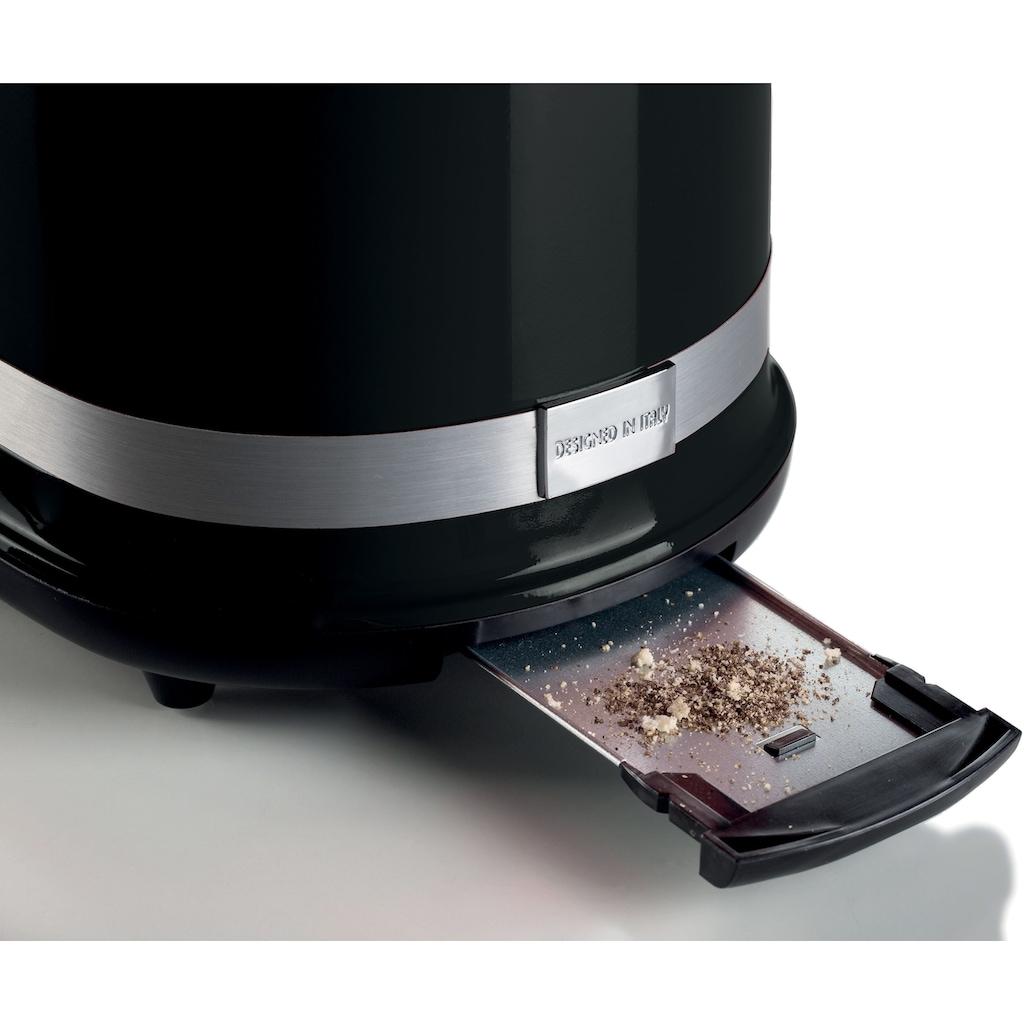 Ariete Toaster »149BK moderna schwarz«, 2 kurze Schlitze, 815 W