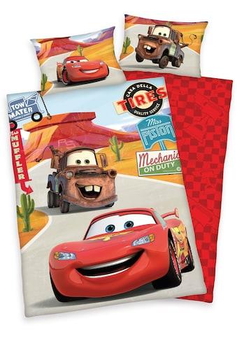 Disney Kinderbettwäsche »Cars on Road«, mit Automotiven kaufen