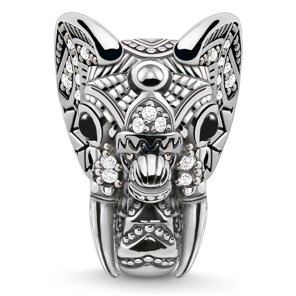 THOMAS SABO Bead »Karma Bead, Elefant, K0218-641-25«, mit Zirkonia