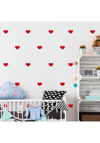 Wall-Art Wandtattoo »Herzen Set« kaufen