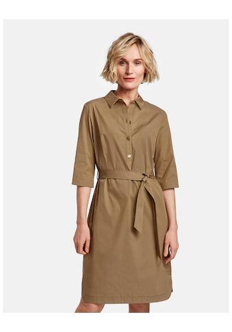 GERRY WEBER Kleid Gewebe »Hemdblusenkleid mit Bindegürtel« kaufen