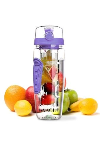 LA VAGUE Trinkflasche »VITALITY«, (1 tlg.), mit Früchtesieb für perfekt aromatisierte... kaufen