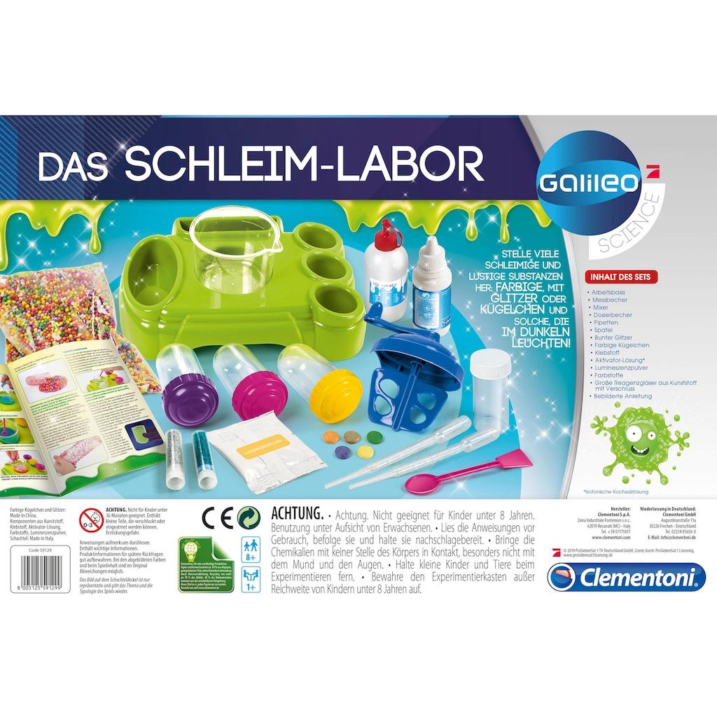 Clementoni® Experimentierkasten »Galileo - Das Schleim-Labor«, Made in Europe