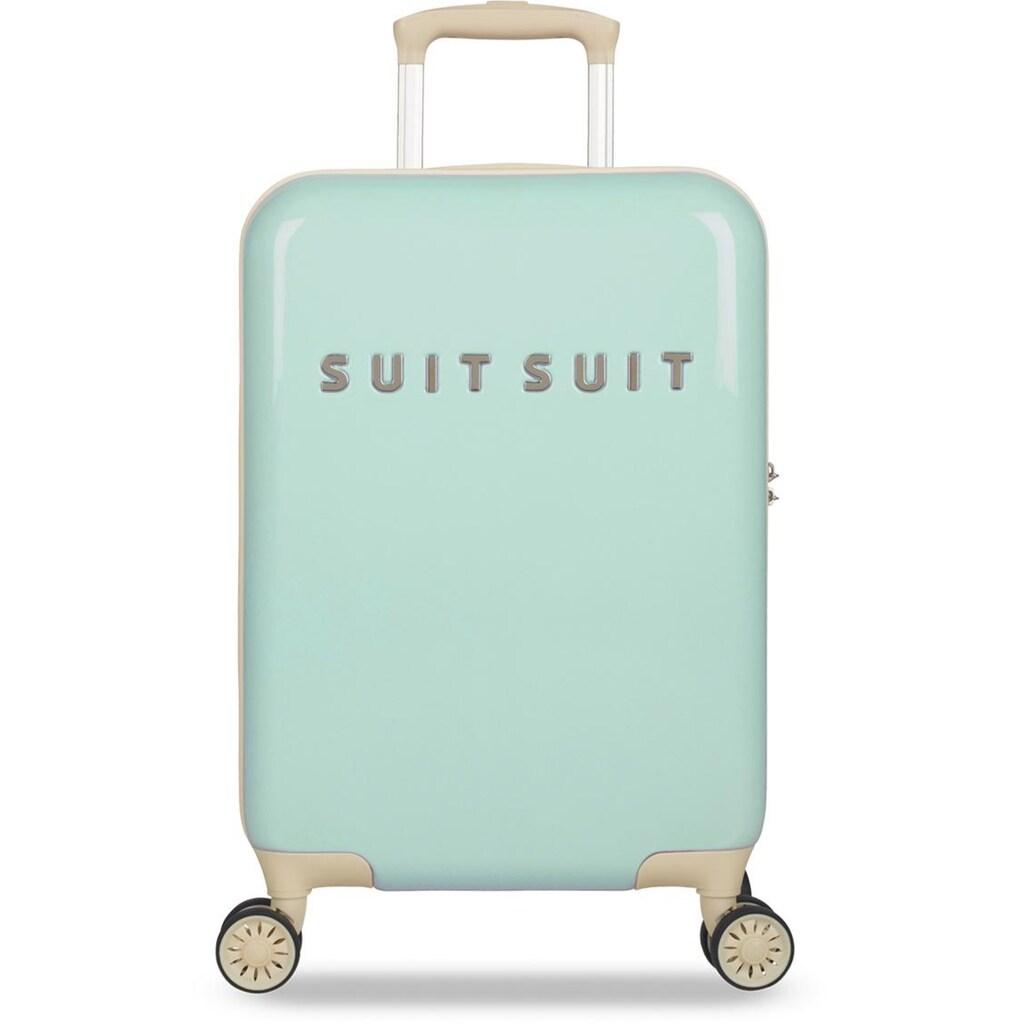 suitsuit Hartschalen-Trolley »Fabulous Fifties, 55 cm«, 4 Rollen