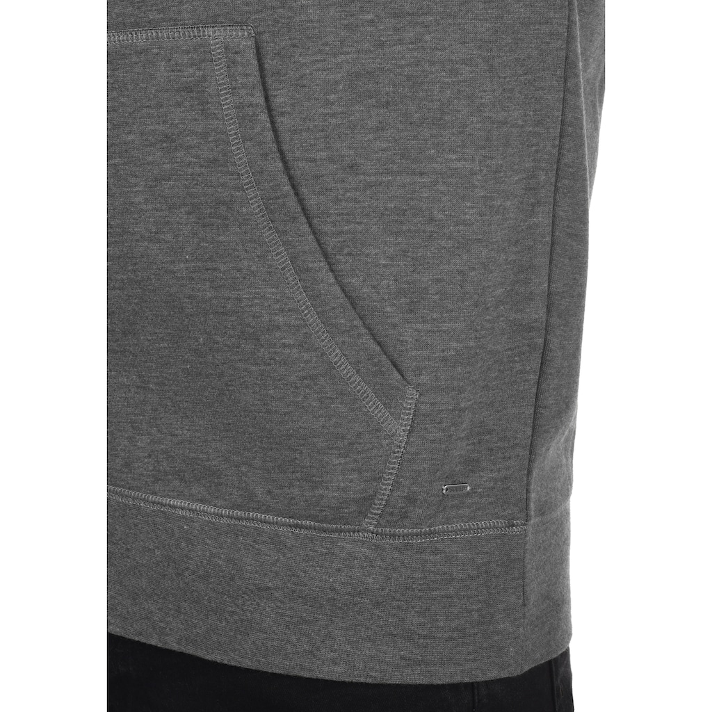 Solid Kapuzensweatjacke »BertiZip«, Sweatshirtjacke mit weicher Fleece-Innenseite