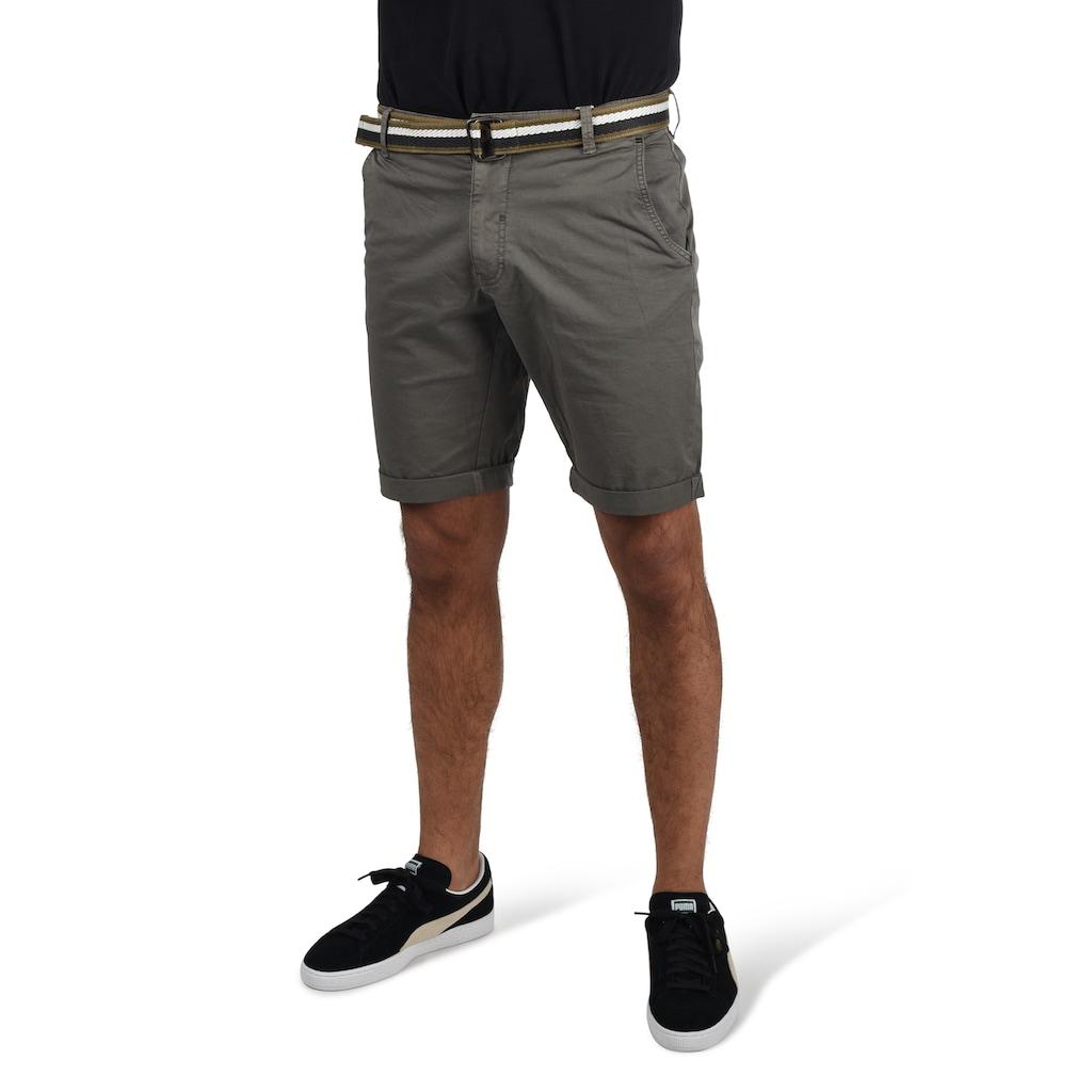 Blend Chinoshorts »Bruno«, (mit Gürtel), kurze Hose