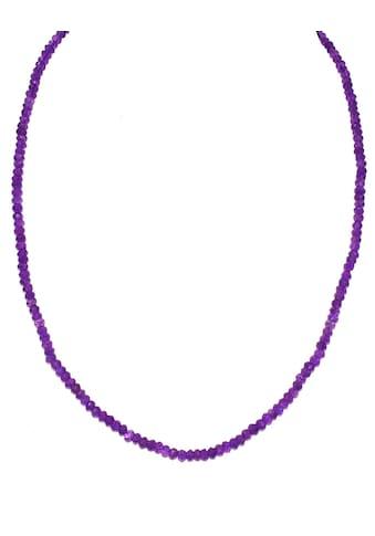 Firetti Collier »Runde Steine, 4 mm breit, facettiert«, mit Amethysten, Made in Germany kaufen