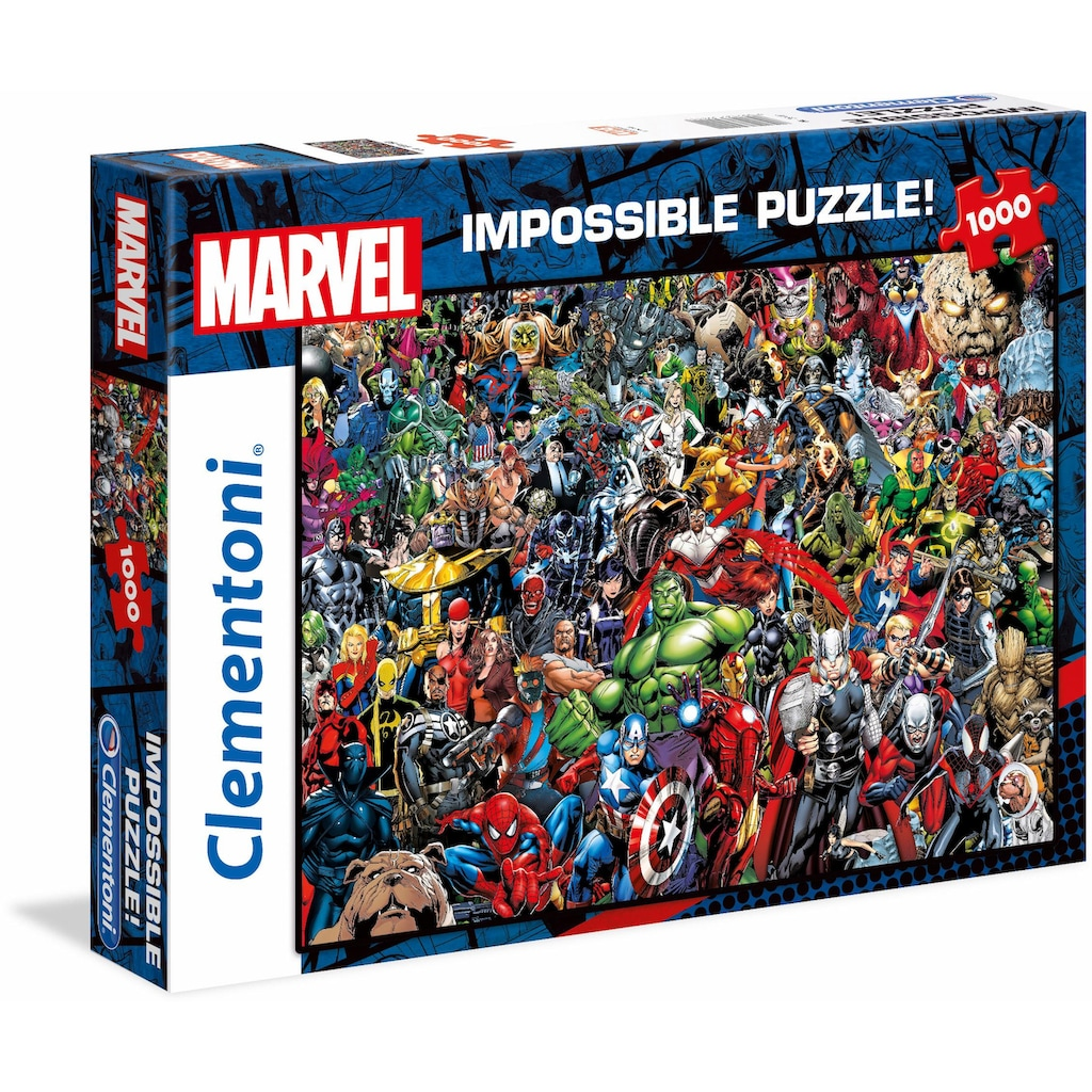 Clementoni® Puzzle »Impossible Collection -Marvel«, Made in Europe