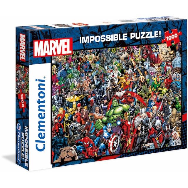 """Clementoni® Puzzle """"Marvel, Impossible Puzzle"""""""