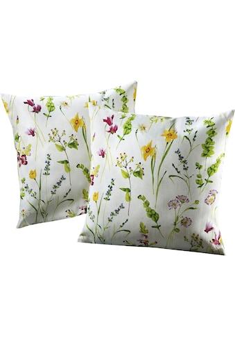 Dohle&Menk Kissenhüllen »Streublümchen«, mit floralem Design (2 Stück) kaufen