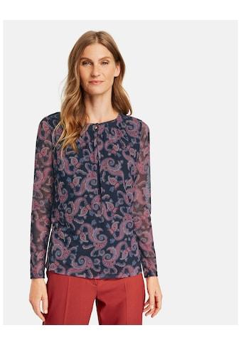 GERRY WEBER Langarmshirt »Langarmshirt aus Mesh« kaufen
