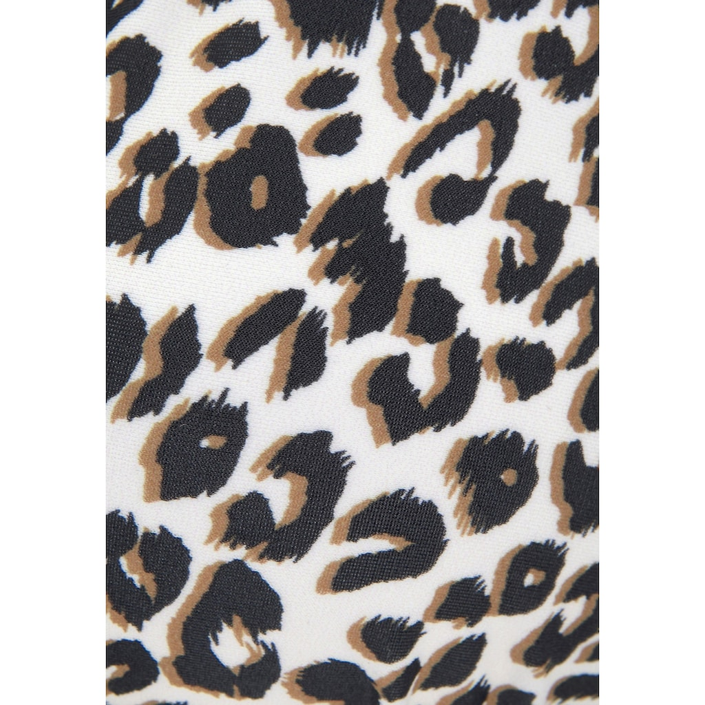 Buffalo Triangel-Bikini-Top »Kitty«, mit Animaldesign